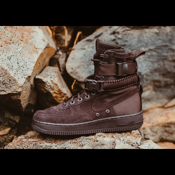 Nike Air Force - SF 1 High Velvet Brown. M 5b3974b0534ef95b4d0a43be 3a2ea4f01